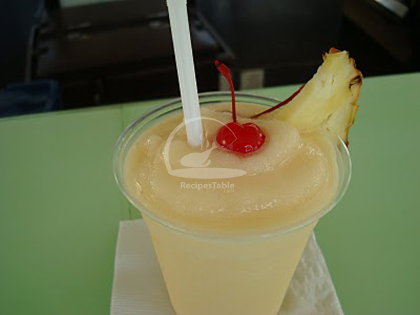 Peach Colada Recipe