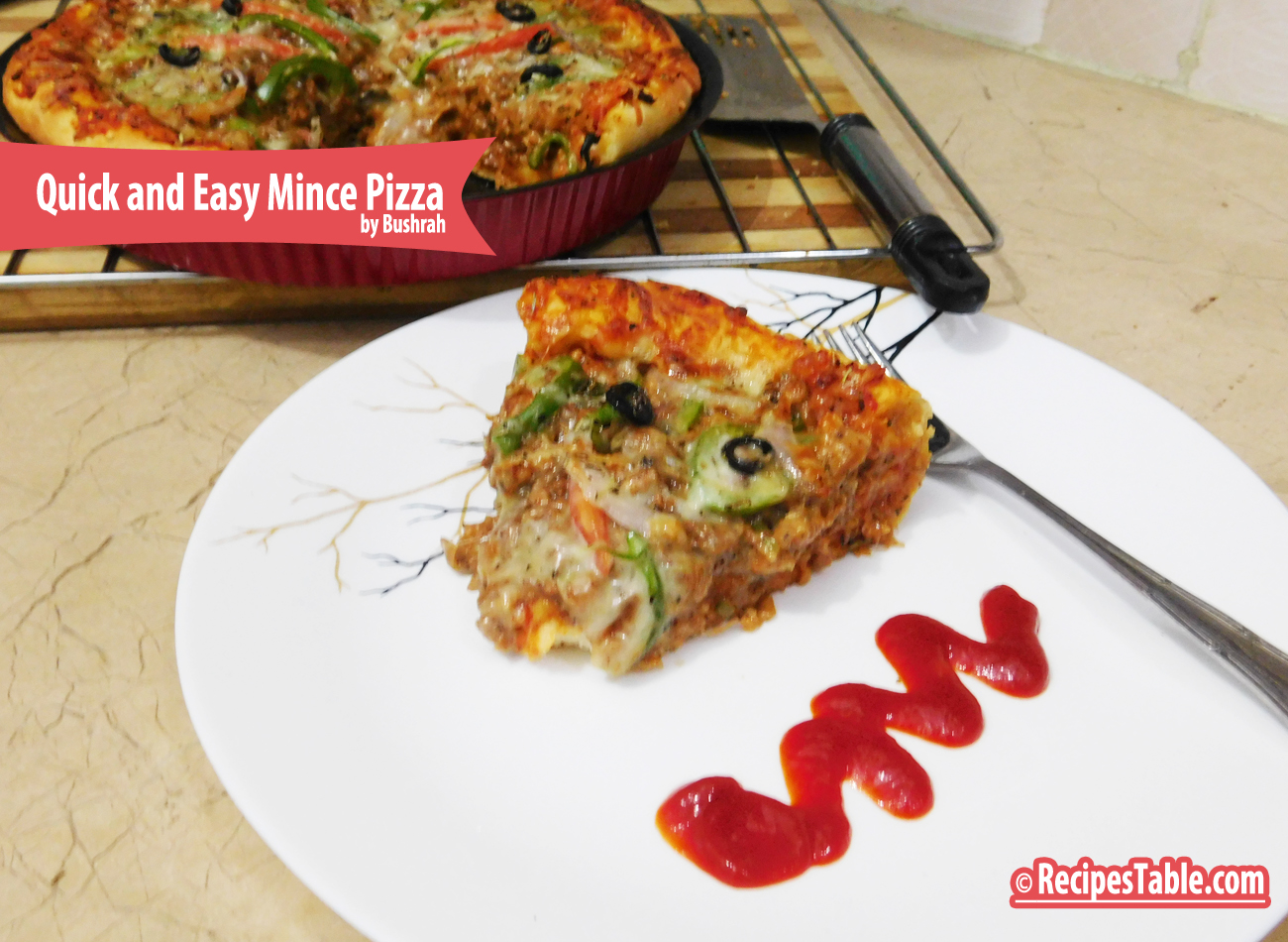 Quick and Easy Mince Pizza