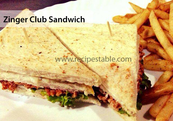 Zinger Club Sandwich Recipe Recipes Table