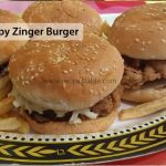 Crispy Zinger Burger Recipe