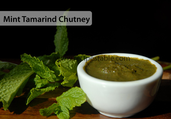 Mint Tamarind Chutney Recipe