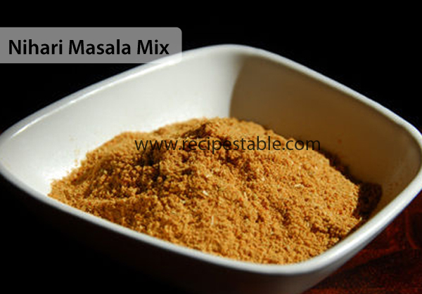 Nihari Masala Mix Recipe