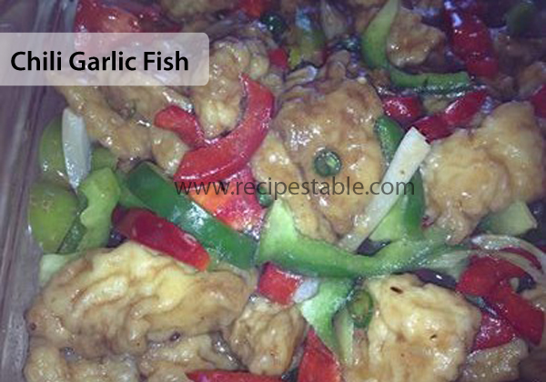 Chili Garlic Fish Recipe