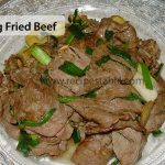 Spring Fried Beef Recipe