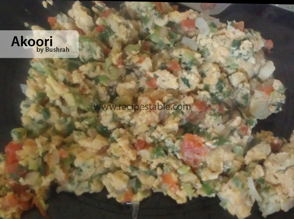Akoori Recipe
