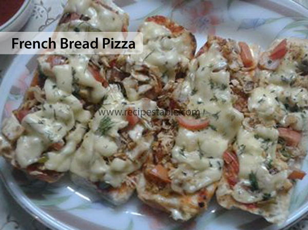 My Favorite French Bread Pizza