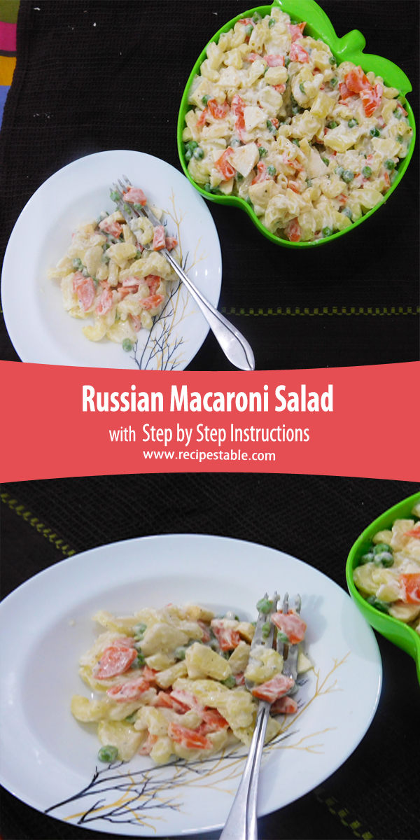 Russian Macaroni Salad Pinterest