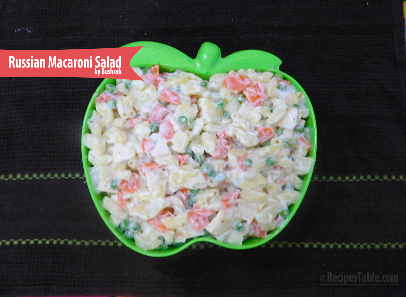 Russian Macaroni Salad recipe