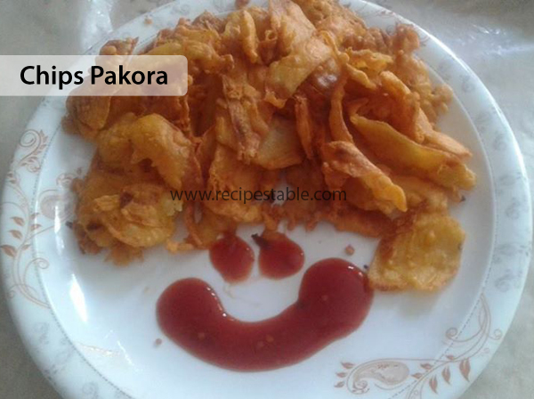 Chips Pakora Recipe