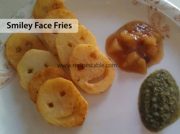 Smiley Face Fries Recipe