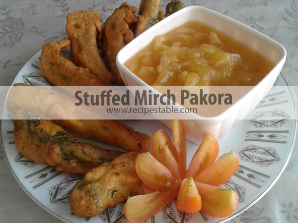 Recipe: Stuffed Mirch Pakora