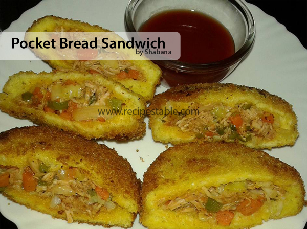 Pocket Bread Sandwich Recipe