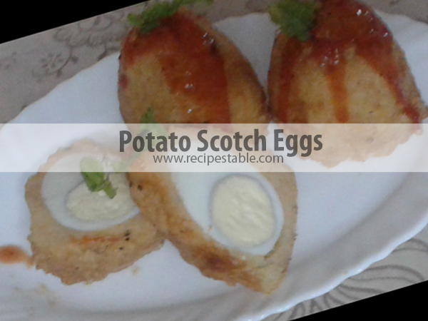 Potato Scotch Eggs recipe