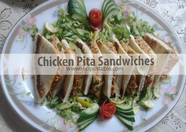 Chicken Pita Sandwiches Recipe