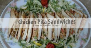 Chicken Pita Sandwiches