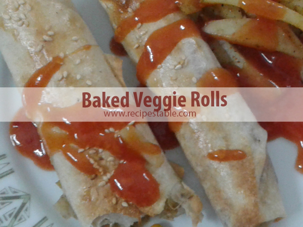 Take a Break and Bake Some Veggie Rolls