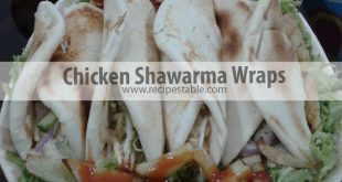 Chicken Shawarma Wraps Recipe