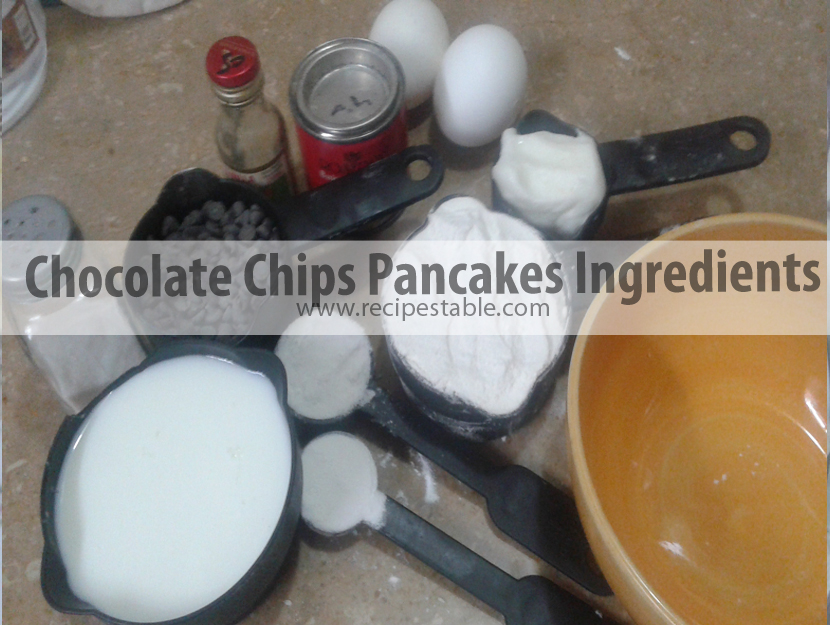 Ingredients You will Need to Make These Pancakes