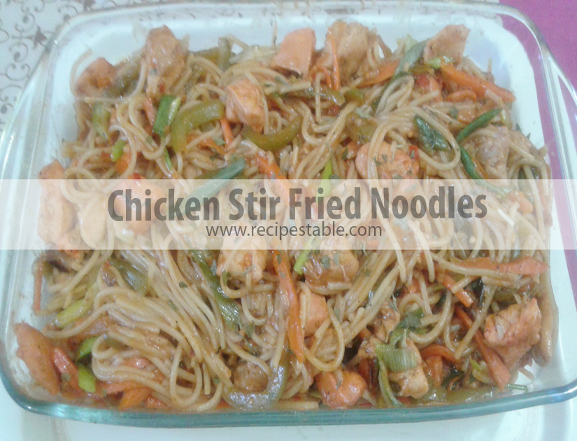 Grandma's Favorite Chicken Stir Fried Noodles
