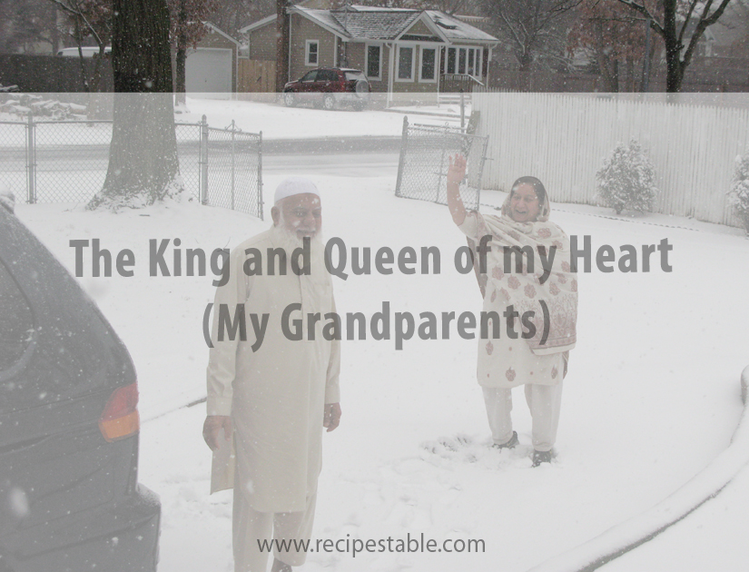 The King and Queen of my Heart (My Grandparents)