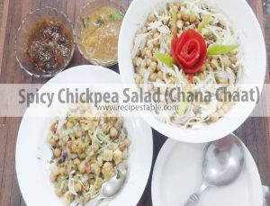Recipe: Spicy Chickpea Salad (Chana Chaat)