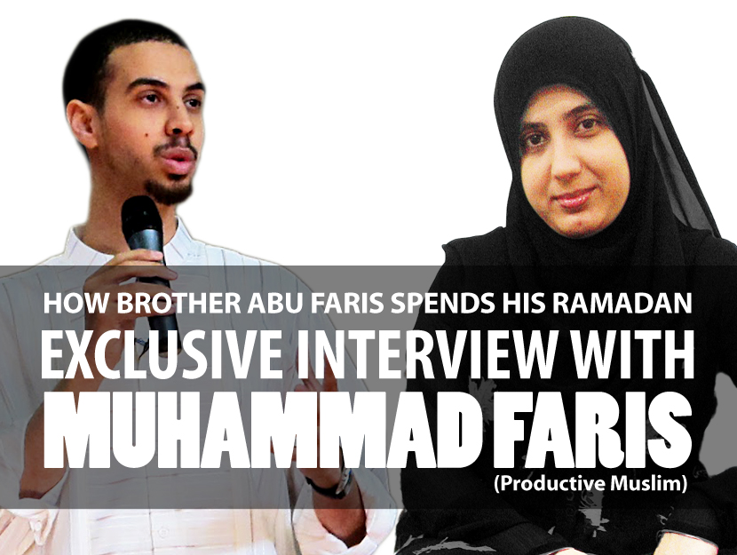 Ramadan Exclusive Interview with Abu Productive