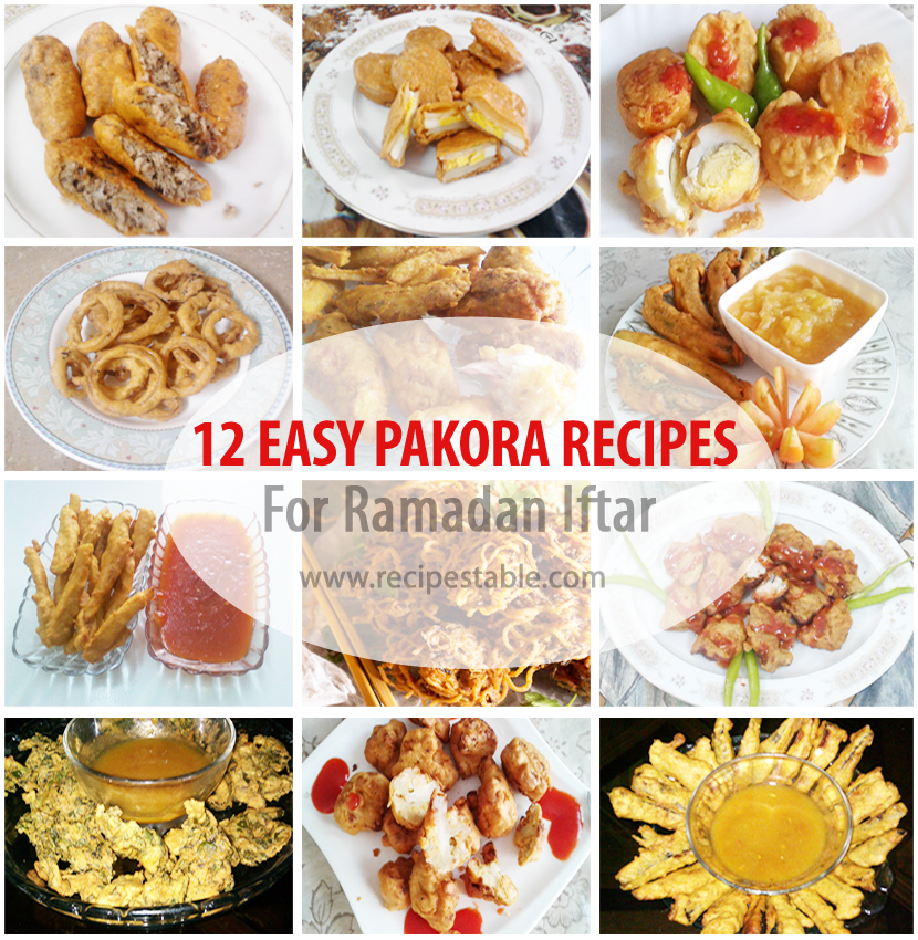 Easy Pakora Recipes for Ramadan Iftar