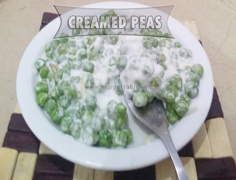 The Best Creamed Peas