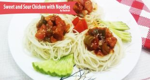 Sweet and Sour Chicken with Noodles