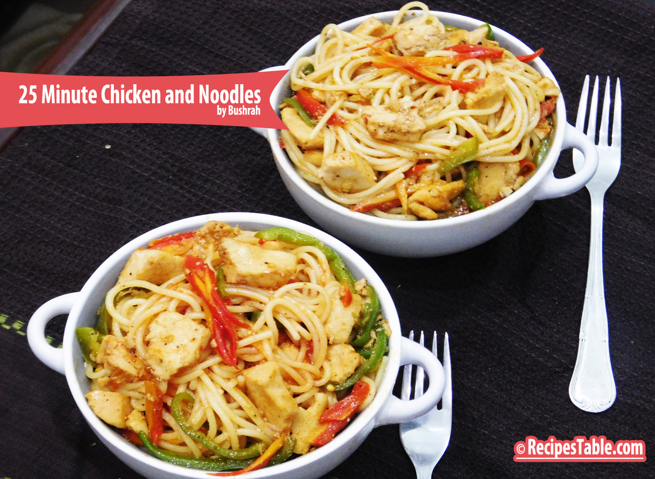 25 Minute Chicken and Noodles