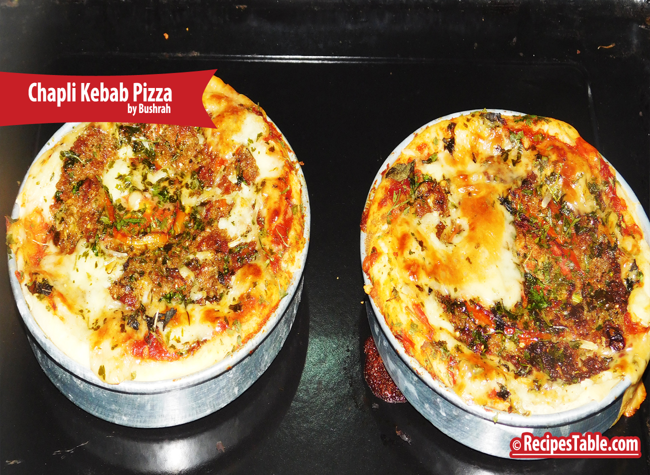Recipe: Chapli Kebab Pizza (An Italian-Pakistani Twist)