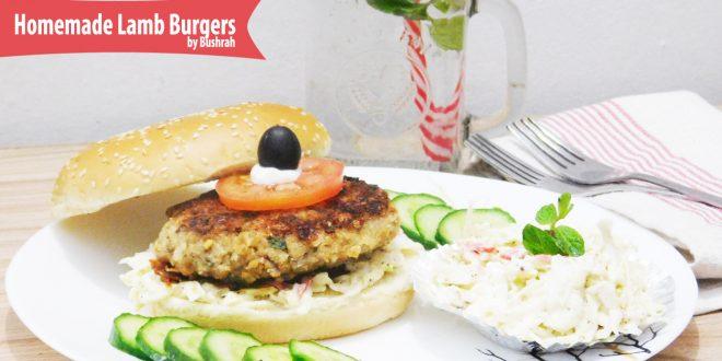 Homemade Lamb Burgers recipe