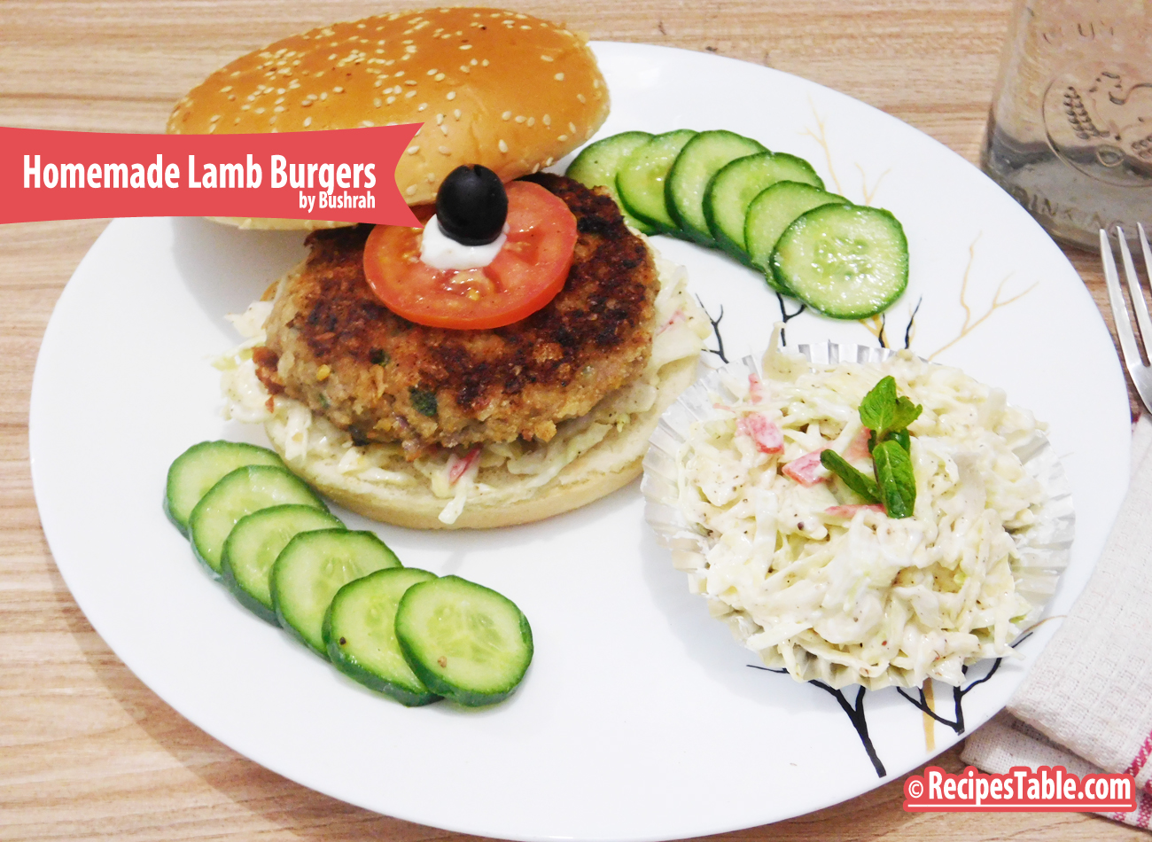 Homemade Lamb Burgers recipe