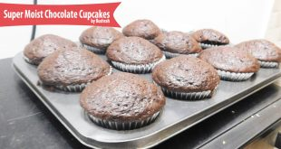Super easy, Super Moist Chocolate Cupcakes