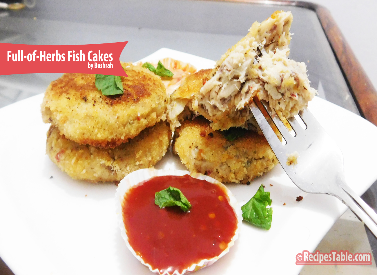 Full-of-Herbs Fish Cakes