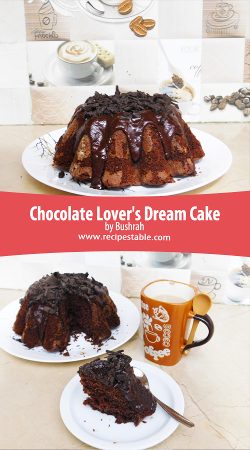 Chocolate Lover's Dream Cake Pinterest