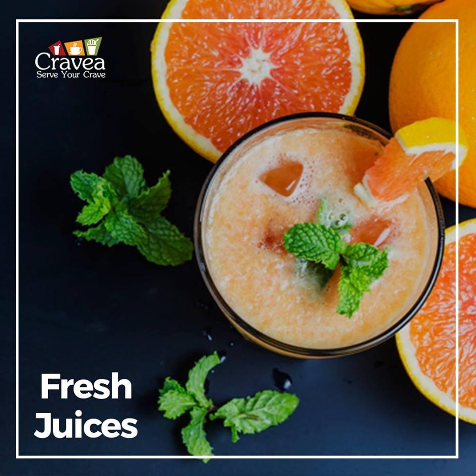 Seasonal Fresh Juices by Cravea