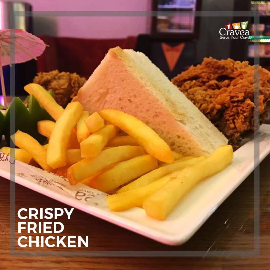 Crispy Fried Chicken by Cravea
