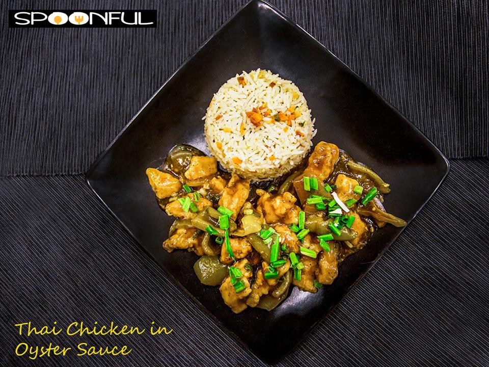 Thai Chicken in Oyster Sauce