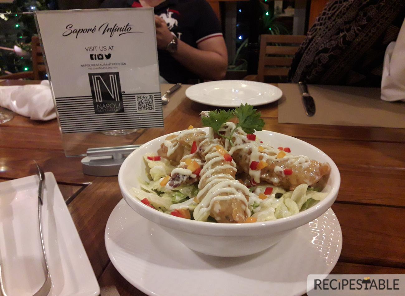 Wasabi Prawns @ Napoli Restaurant