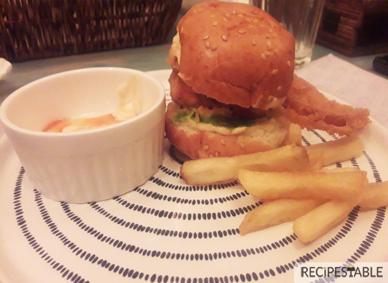 Sliders @ Rivoli Restaurant Lahore