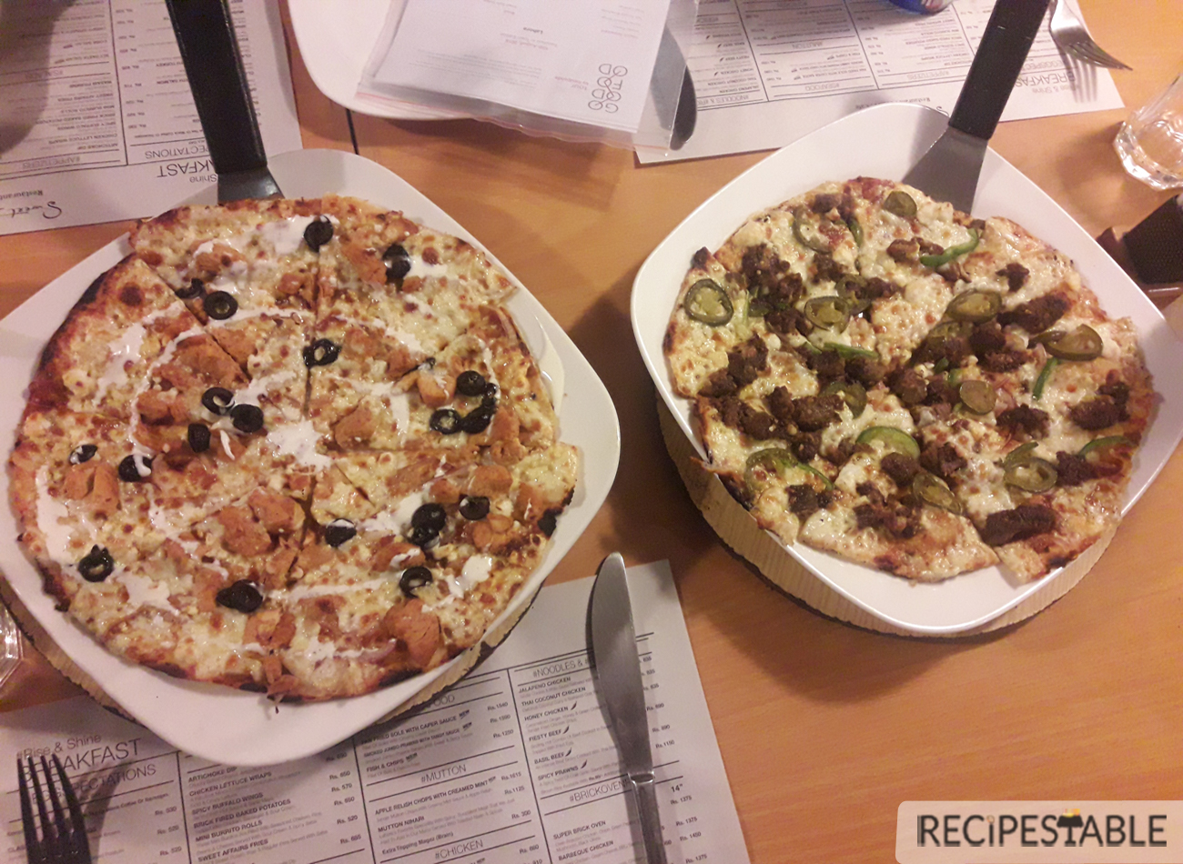 Brick Oven Pizza @Sweet Affairs
