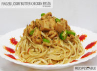 Finger Lickin Butter Chicken Pasta recipe