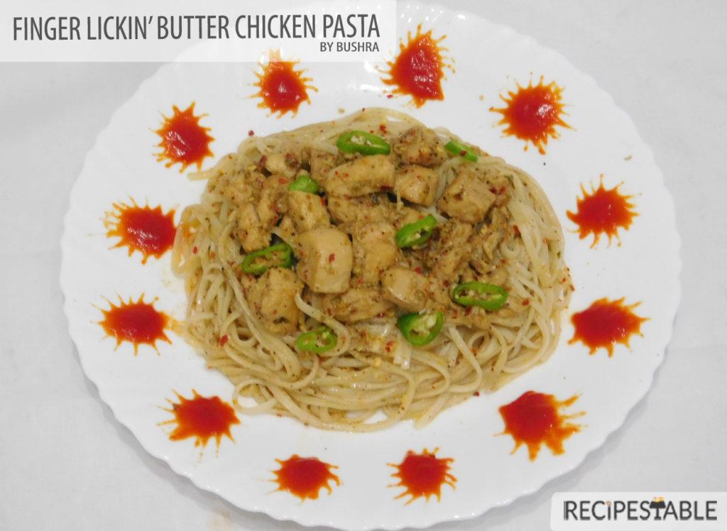 butter chicken pasta2