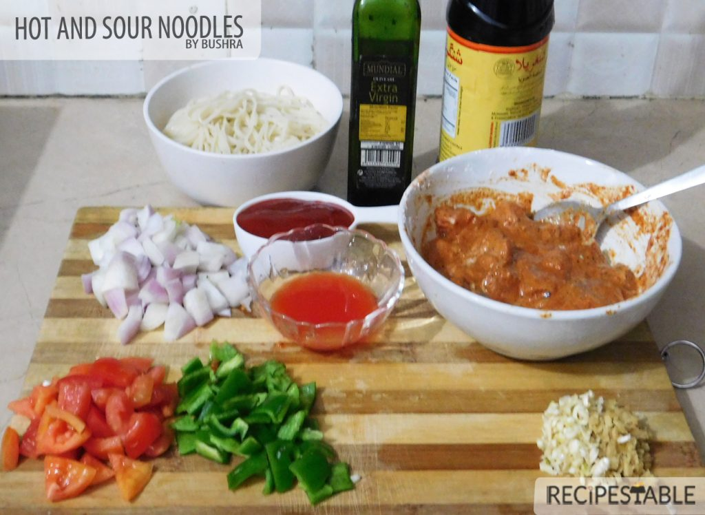 Hot and Sour Noodles Recipe