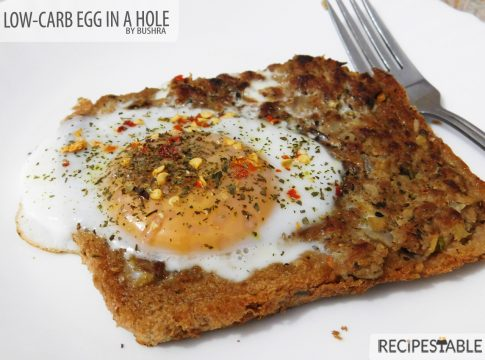 The Low-Carb Solution to Egg in a Hole Recipe