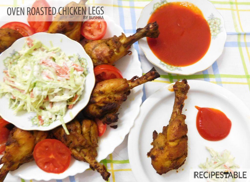 Oven Roasted Chicken Legs Recipe