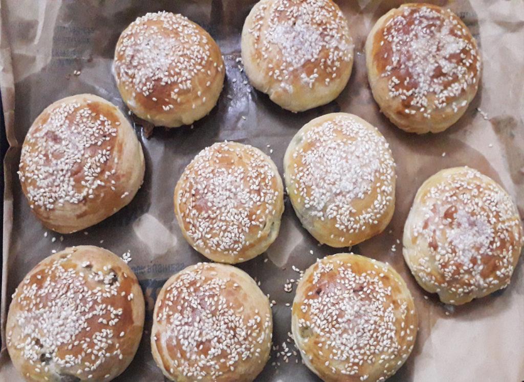 stuffed chicken buns recipe