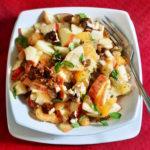 Feel-Good Apple and Orange Salad Recipe