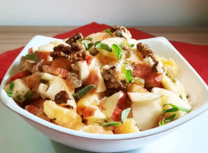 Feel-Good Apple and Orange Salad Recipe